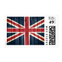 Distressed Country Flags | Great Britain Postage