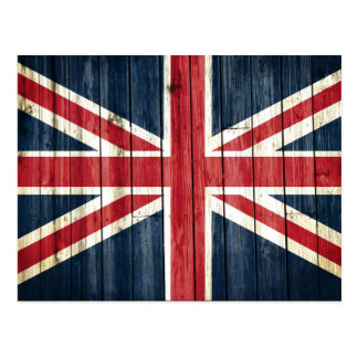 Distressed Country Flags | Great Britain Postcard