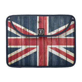 Distressed Country Flags | Great Britain Sleeve For MacBook Pro