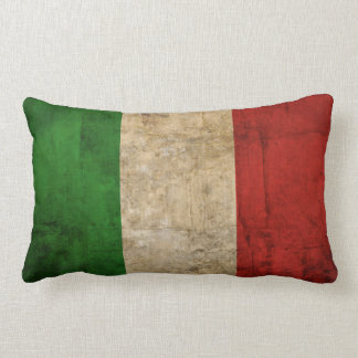Distressed Country Flags | Italy Lumbar Pillow