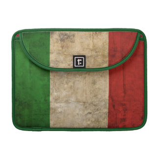 Distressed Country Flags | Italy MacBook Pro Sleeve