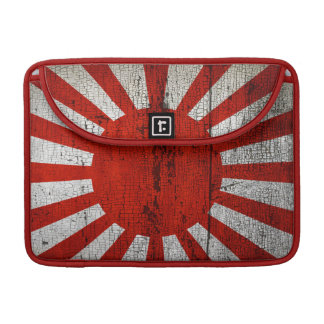 Distressed Country Flags | Japan Sleeve For MacBook Pro