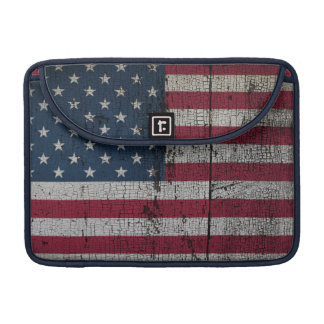 Distressed Country Flags | United States MacBook Pro Sleeve