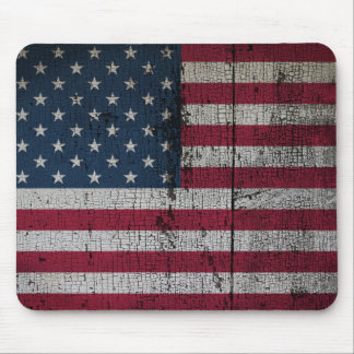 Distressed Country Flags | United States Mouse Pad
