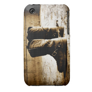 Distressed Cowboy boots for Ipod iPhone 3 Cover