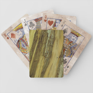Distressed Cypress Forest Playing Cards