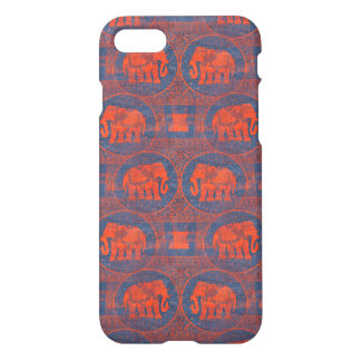 Distressed Decorated Elephants iPhone 7 Case