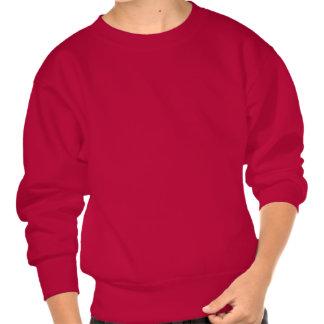 Distressed Dinosaur Silhouette Sweatshirt