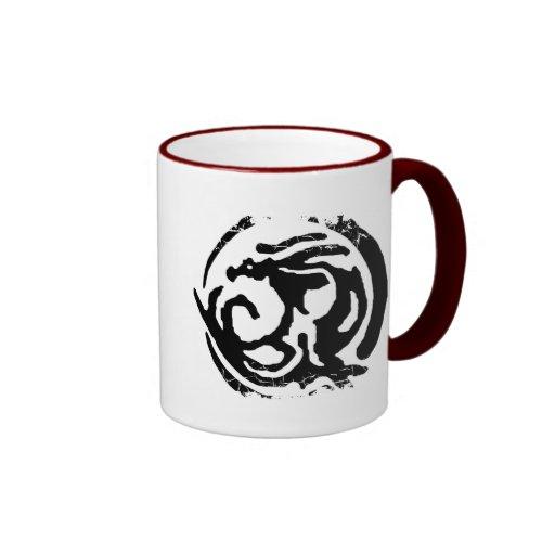distressed dragon drinking vessel coffee mugs zazzle