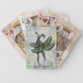 Distressed Dragonfly Deck of Cards