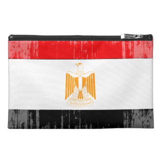 DISTRESSED EGYPT FLAG png Travel Accessories Bag