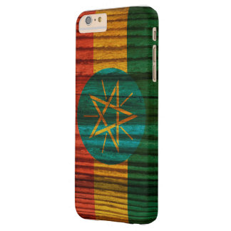 Distressed Ethiopia Flag Barely There iPhone 6 Plus Case