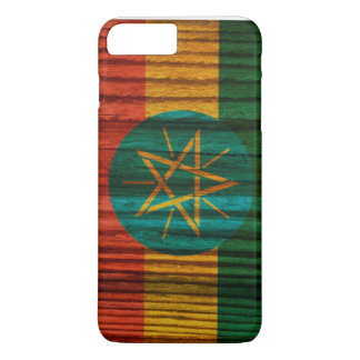 Distressed Ethiopia Flag iPhone 7 Plus Case