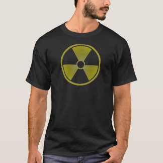 distressed,faded radioactive symbol, version 3 T-Shirt
