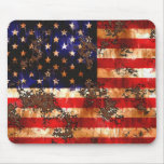 Distressed Flag Mouse Pad