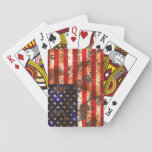 Distressed Flag Playing Cards
