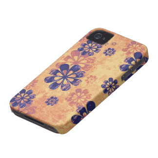 Distressed floral pattern stylish blackberry bold iPhone 4 cases