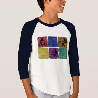 Distressed Freestyle Biker Kids shirt