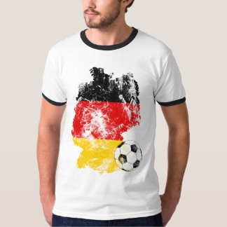 Distressed Germany Soccer T-Shirt
