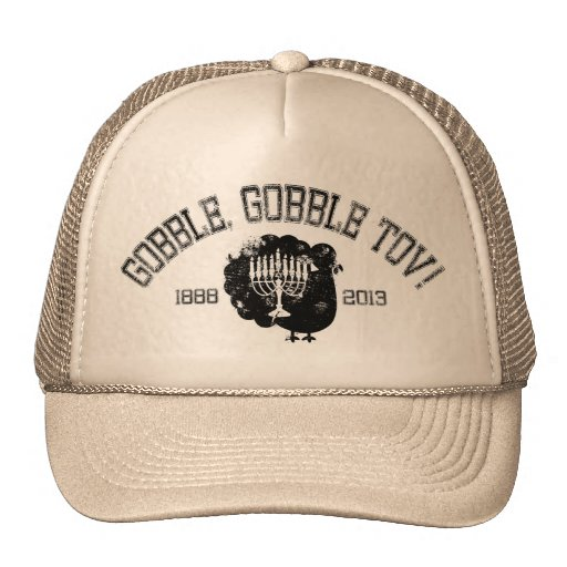 Distressed Gobble Gobble Tov Hats