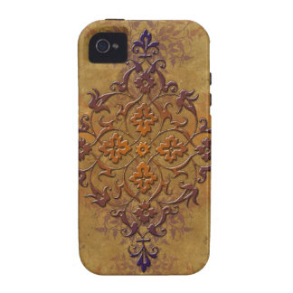 Distressed Gothic Art in Warm Tones iPhone 4/4S Covers