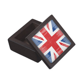 DISTRESSED GREAT BRITAIN FLAG .png Premium Jewelry Box