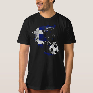 Distressed Greece Soccer T-Shirt