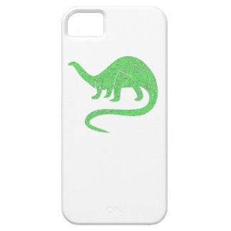 Distressed Green Brontosaurus iPhone 5 Covers