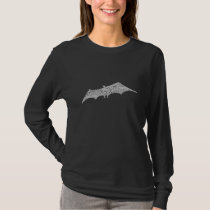 Distressed Grey Bat T-Shirt
