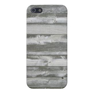 Distressed Grey Wood Planks Protective case. iPhone SE/5/5s Cover