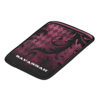 Distressed Grunge Argyle iPad Sleeve