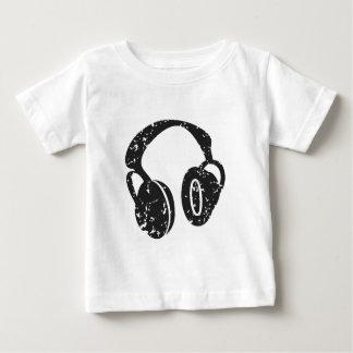 Distressed Headphones Baby T-Shirt
