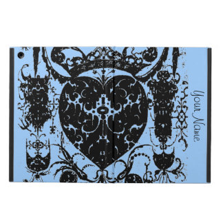 Distressed Heart Crown Graphic Art Add Your Text iPad Air Case
