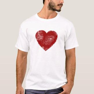 Distressed Heart T-Shirt