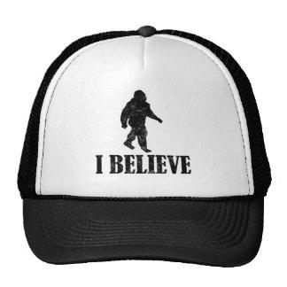 Distressed I Believe Bigfoot Hat