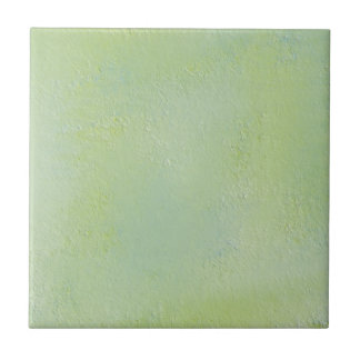 Distressed Ice Blue And Celery Wall Tile