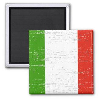 Distressed Italian Flag Magnet