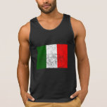 Distressed Italy Flag Tank