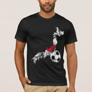 Distressed Japan Soccer T-Shirt
