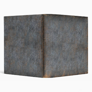 Distressed Leather Look | Antique Book Cover 3 Ring Binder