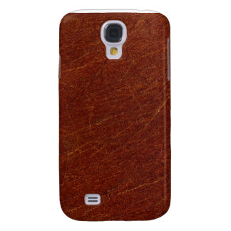 Distressed Leather Print iPhone 3G Galaxy S4 Case