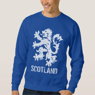 Distressed Look Scottish Rampant Lion Sweatshirt