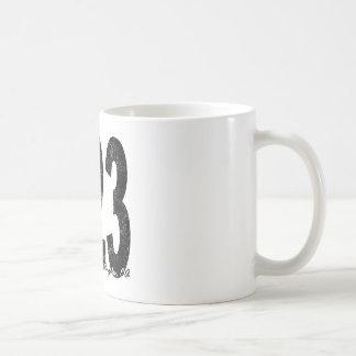 Distressed Los Angeles 323 Coffee Mug