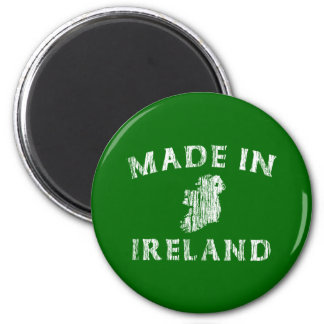 Distressed Made In Ireland Magnets