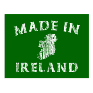 Distressed Made In Ireland Post Card