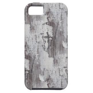Distressed Maui Whitewashed Oak Wood Grain Look iPhone SE/5/5s Case