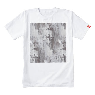 Distressed Maui Whitewashed Oak Wood Grain Look Zazzle HEART T-Shirt