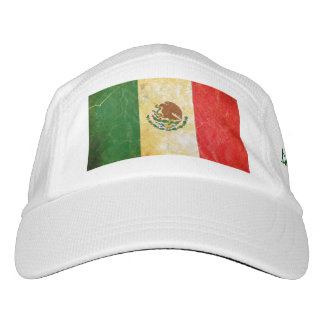 Distressed Mexico Flag Headsweats Hat