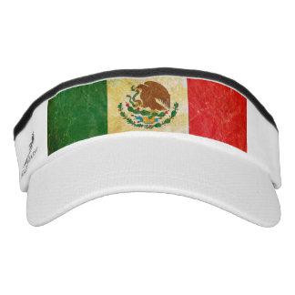 Distressed Mexico Flag Visor