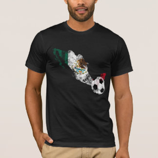 Distressed Mexico Soccer T-Shirt